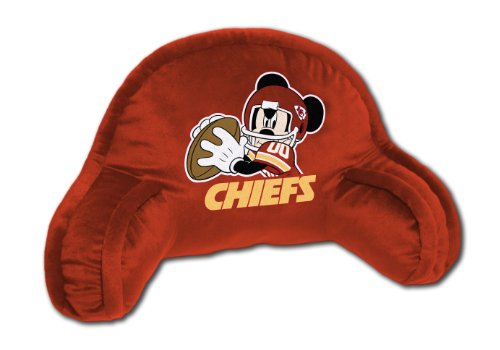 Nfl Bedrest Pillow - The Northwest Company Officially Licensed NFL Kansas City Chiefs Field Goal Co Disney's Mickey Small Bedrest