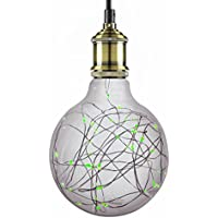 Sunlite G40 Globe Shaped Bulb, 40 Green LED Fairy Lights...