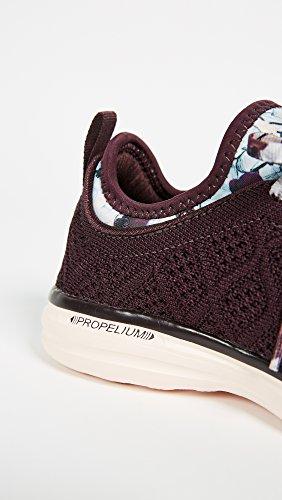 Apl: Atletische Voortstuwingslabs Vrouwen Techloom Phantom Sneakers Plum / Ondoorzichtige Perzik