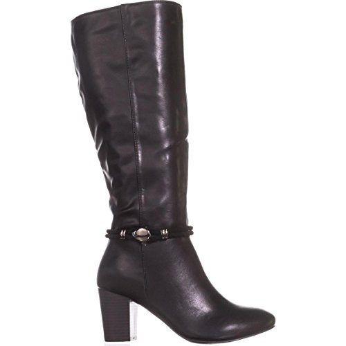Boots Mid Galee KS35 Black Calf Dress 4IRqw