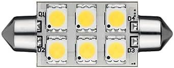 Goobay 30365Diodo LED para lámparas 42mm 6LED SMD luz blanca