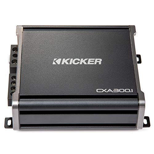 Kicker 43CXA3001 600 Watt MONO Class D Power Car Audio Amplifier Amp ()
