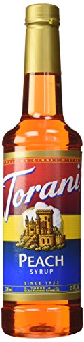 Torani Peach Syrup 750 mL product image