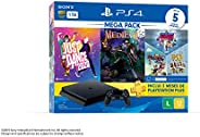 Console PlayStation 4 1TB Bundle 11 - Just Dance 2020, Medievil, Knowledge is Power +Frantics + That's You! - PlayStation 4