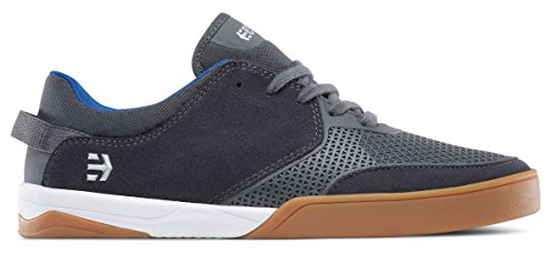 Etnies Mens Men's Helix Skate Shoe, Dark Grey/White/Gum, 9 Medium US