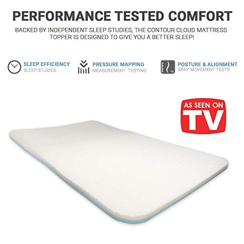 Contour Products Cloud Mattress Pad, Full