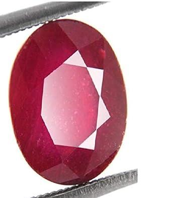 Buy 100% Natural Burmese Ruby - Manik Lab Certified 12 25 Ratti / 11
