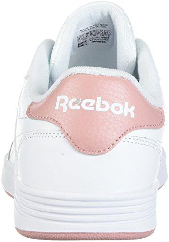 Donna White Memt Pink chalk Reebok Club OwSFR