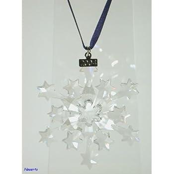 Swarovski 2004 Annual Christmas Snowflake / Star Ornament - Amazon.com: Swarovski 2004 Annual Christmas Snowflake / Star