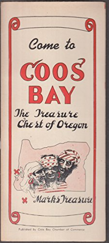 Come to Coos Bay Treasure Chest of Oregon Chamber of Commerce map 1940