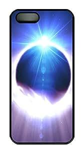 iPhone 5 5S Case Mystic Eye 3D Light emitting Sphere PC Custom iPhone 5 5S Case Cover Black