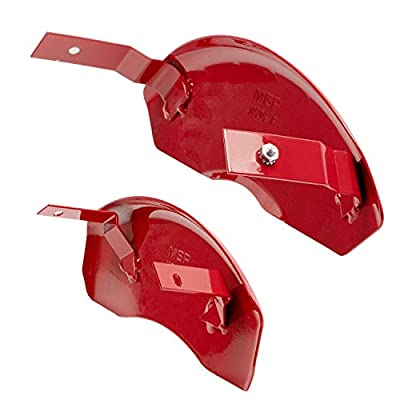 MGP Caliper Covers 10202SMB2RD Red Caliper Covers for Mustang (Set of 4): Automotive