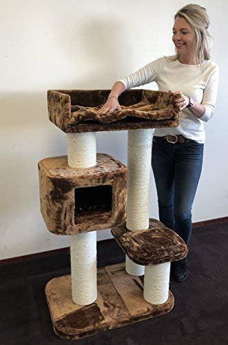 Rascador para gatos grandes Devon Rex baratos arbol xxl maine coon gato adultos con hamaca gigante sisal muebles sofa escalador torre Árboles rascadores cama cueva repuesto medianos: Amazon.es: Productos para mascotas