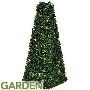 Artificial pyramid cone tree with solar powered led lights topiary artificial pyramid cone tree with solar powered led lights topiary bush solar light tree aloadofball