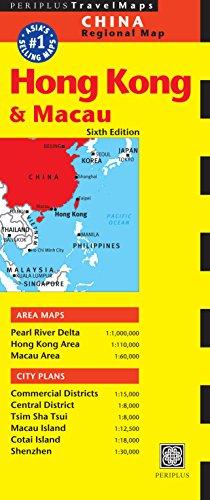 Hong Kong & Macau Travel Map Sixth Edition (Tuttle Travel Maps)...