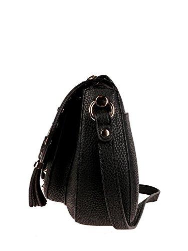 schwarz black a Portland black JO N18027E0054 Borsa Saddle tracolla LIU BLACK 867Eqwvx