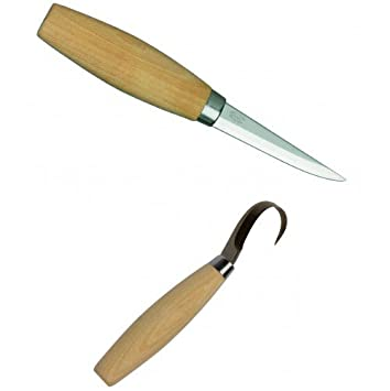 Mora frost  twin pack wood carving tool bushcraft spoon
