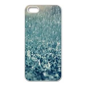For LG G3 Phone Case Cover Rain 1 Hard Shell Back White For LG G3 Phone Case Cover 331403