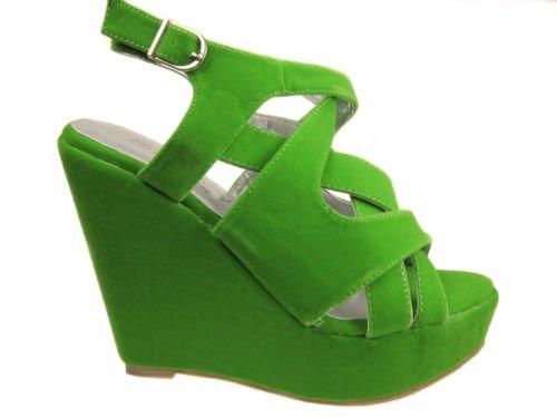 Envy - plataforma chica mujer Verde - verde
