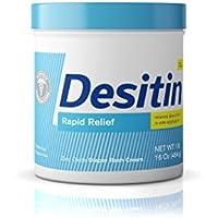 Desitin Rapid Relief Diaper Rash Remedy Fragrance-Free Cream 16 Oz