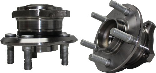 Brand New (Both) Front Wheel Hub and Bearing Assembly for Chrysler 300, Dodge Charger, Magnum AWD 5 Lug (Pair) 513225 x 2