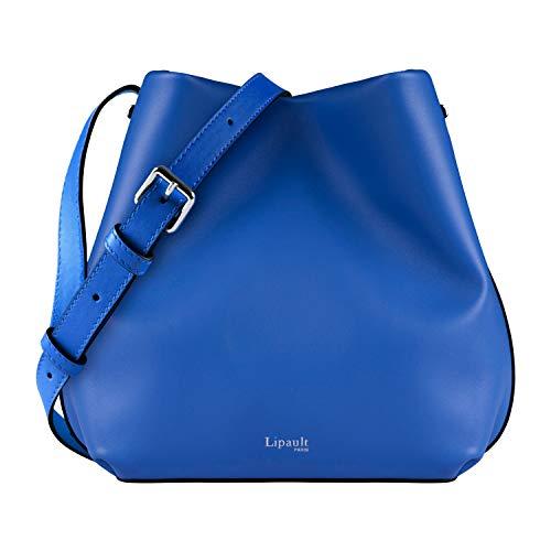 Lipault - By The Seine Bucket Bag - Medium Adjustable Strap Shoulder Crossbody Handbag - Cobalt Blue
