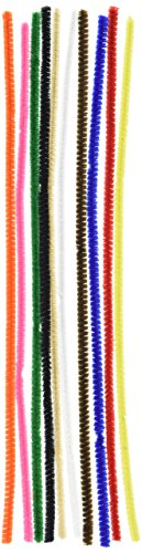Darice 1084-11 100 Piece, Big Value Chenille Stems, Multicolor ()