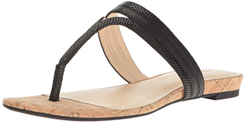 Nine West Women's Renne Patent Dress Sandal Black