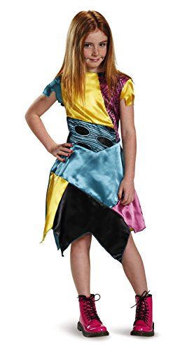 Sally Child Classic Nightmare Before Christmas Disney Costume, Medium/7-8 (Nightmare Costumes)