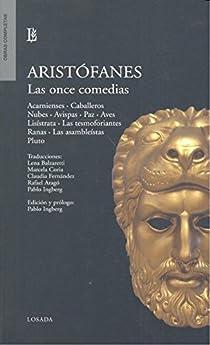 Once comedias, Las par Aristófanes