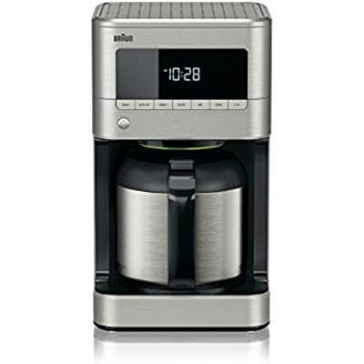 Click for Braun KF7175 Brew Sense Thermal Drip Coffee Maker, Stainless Steel