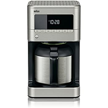 41wxfK5HgeL. SL500 AC SS350  Cuisinart  Cup Stainless Steel Thermal Carafe Programmable Coffee Maker