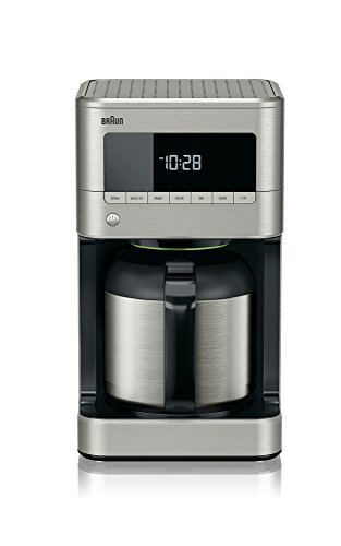 Braun KF7175 Braun Sense Thermal Drip Coffee Maker, Stainless Steel
