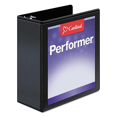 Cardinalamp;reg; Vinyl Clearvue Xtravalue D-Ring Presentation Binder, 4in Capacity, (Clearvue Xtravalue D-ring Presentation Binder)