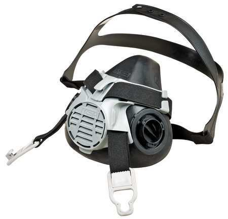 MSA Safety 10119574 Advantage 420 Half-Mask Respirator with Comfo Adapter, Large