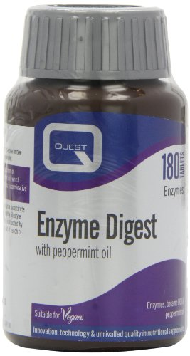 Quest Enzyme Digest with Peppermint Oil 180 Tablets