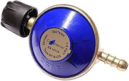 Regulador de Camping gaz para botellas de gas Campingaz 907, 904 y 901