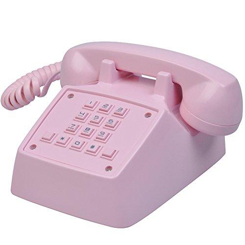 LeeKer LK-P019P Classic Retro Landline Corded Phone Speaker and Ringer Volume Adjustable Flash Redial - Buy Best Retro Phone