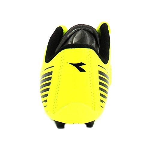 Diadora unisex Zapatillas de Gimnasia GialloFluo/Nero