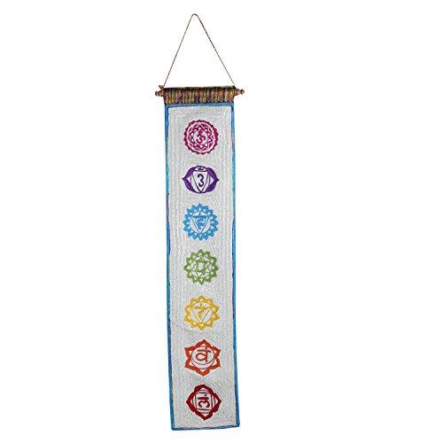 Aatm Reiki Healing Seven Chakra Kundalini Spiritual Prayer Wall Hanging Yoga Meditation Carpet Banner Tapestry Decors Stone Of Healing