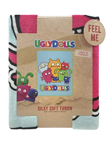"Ugly Dolls Super Silky Soft Plush Throw 40""x50"", used for sale  Delivered anywhere in USA"