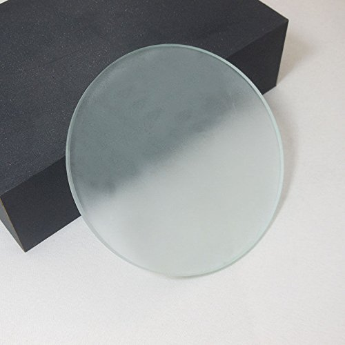 Srate 95mm Stereo Microscope Specimen Stage Frosted Clear Glass Plate 4mm Thickness