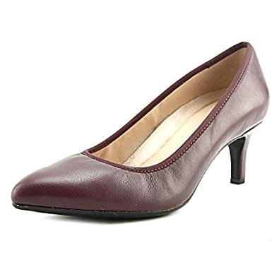 Naturalizer Womens Oath Pump,Classic Cordovan Leather,US 6 W