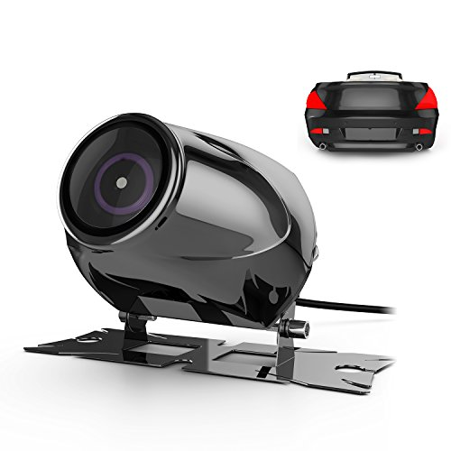 Car Rear View Camera Vehicle Backup Cameras with Waterproof High Definition 170 Degrees Wide Angle Shockproof Night Vision, GOGO ROADLESS Stainless Truck Car Rearview Camcorder Cameras (Rearview Car Camera Kit compare prices)