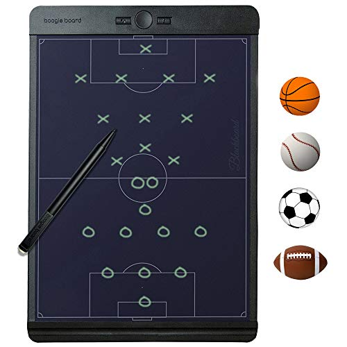 New Boogie Board Coaches Clipboard Baseball Soccer Basketball : Like a Digital Dry Erase Whiteboard for Drawing Play Lineup Playbook Scorebook Coach Board Softball
