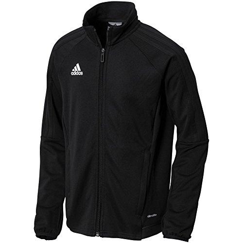 adidas Youth Tiro 17 Training Jacket Black/White L (Youth Tiro Training)
