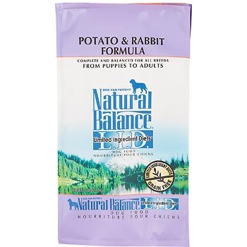 Natural Balance L.I.D. Limited Ingredient Diets Potato and Rabbit Dry Dog Formula/Food, 5-Pound, My Pet Supplies