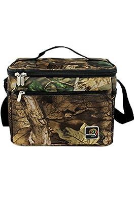 Fashion Camouflage Cooler Bag Picnic Bag Large Square Lunch Bag Box