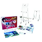 Bob Ross Master Artist Oil Paint Set & 2-in-1 Studio Easel Combined Set