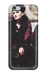 Best 7849054K27610198 Tpu Fashionable Design Tarja Turunen Music Rugged Case Cover For Iphone 6 Plus New